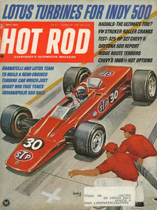 Hot Rod December 1968 Magazine Back Issue - Car Collector Gift