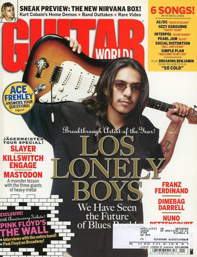 Guitar World - January 2005 (Magazine Back Issue)