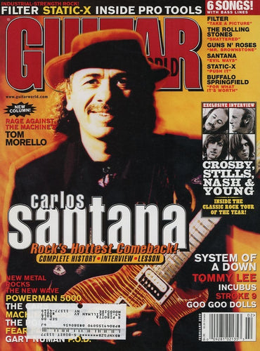 Guitar World - February 2000 (Magazine Back Issue)