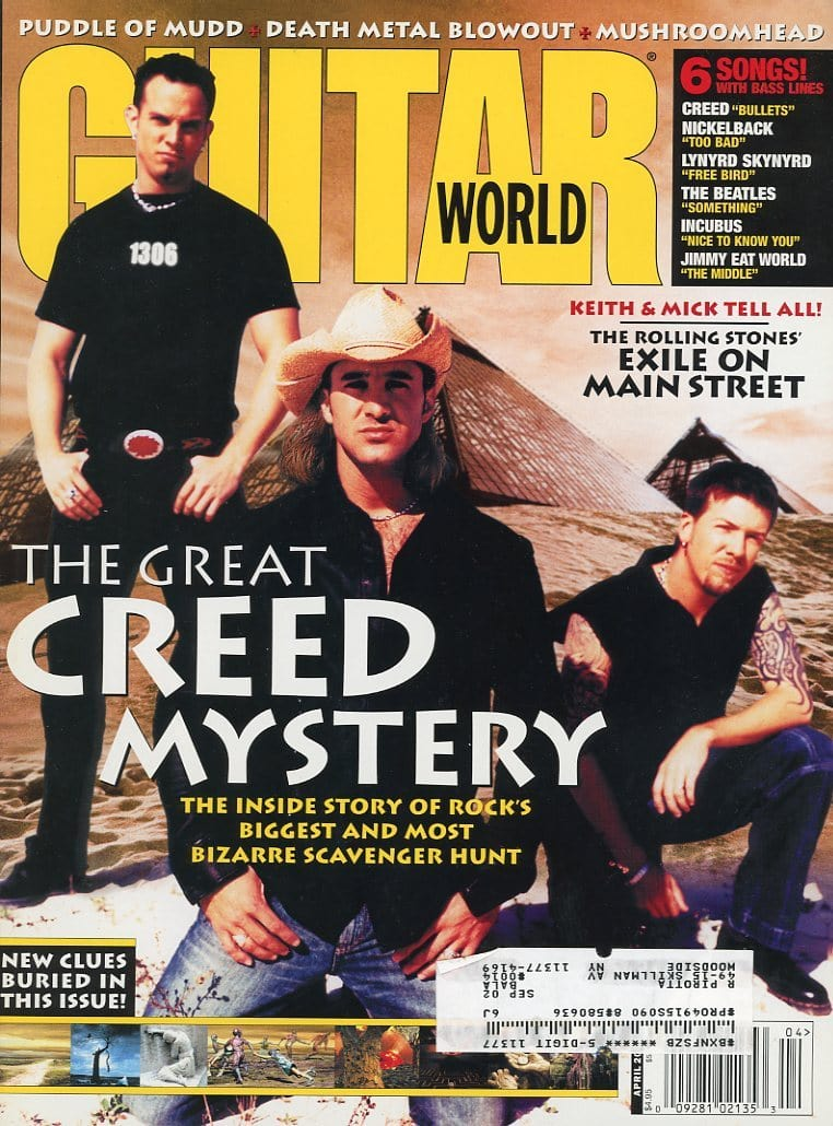 Guitar World - April 2002 (Magazine Back Issue)