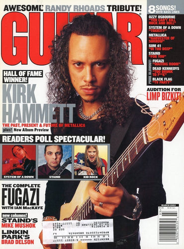 Guitar World - March 2002 (Magazine Back Issue)