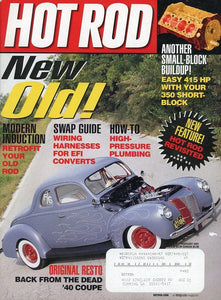 Hot Rod February 2001 Magazine Back Issue - Vintage Car Enthusiast Gift