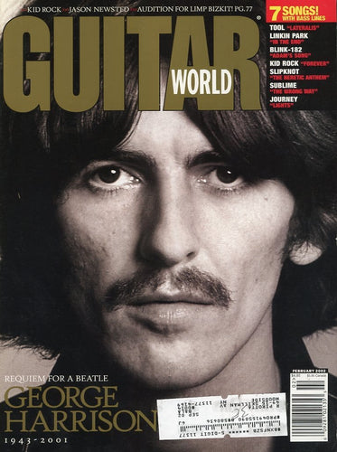 Guitar World - February 2002 (Magazine Back Issue)
