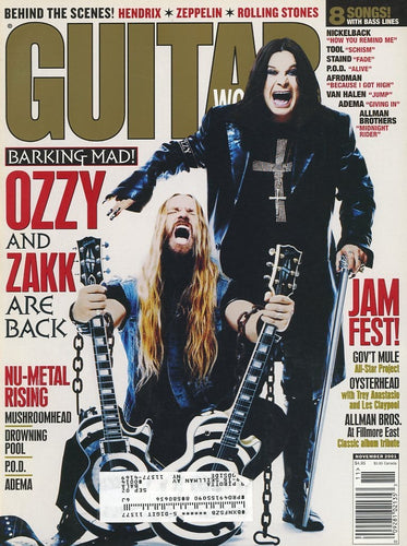 Guitar World - November 2001 (Magazine Back Issue)