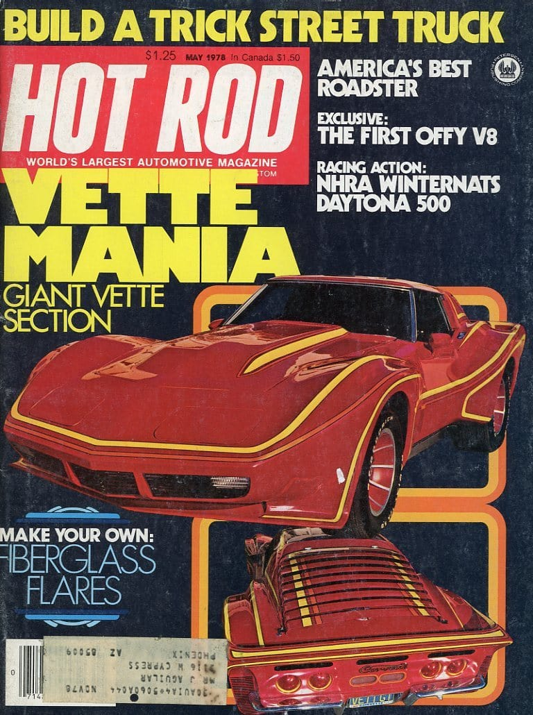 Hot Rod May 1978 Magazine Back Issue - Car Collector Gift