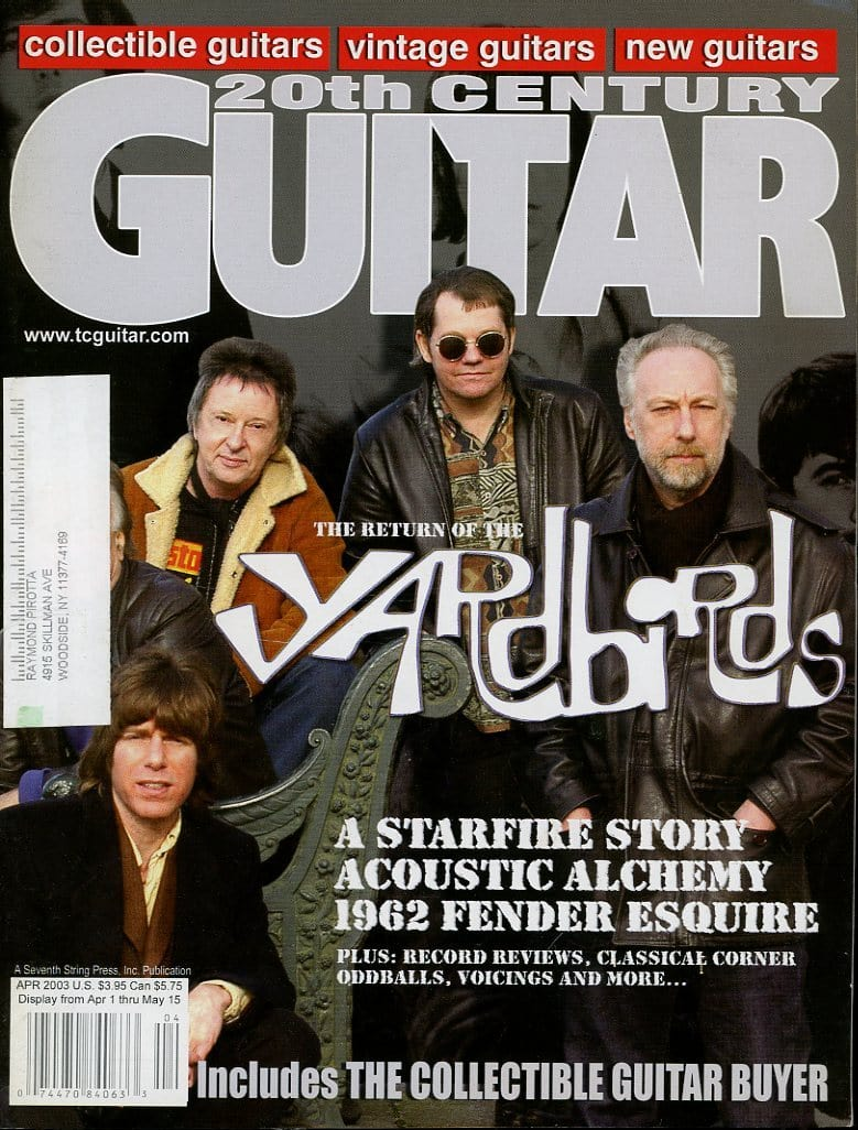 20th Century Guitar - April 2003 (Magazine Back Issue)