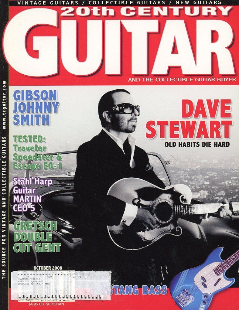 20th Century Guitar - October 2008 (Magazine Back Issue)