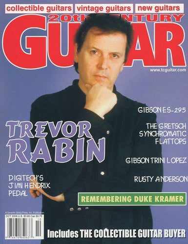 20th Century Guitar - October 2005 (Magazine Back Issue)