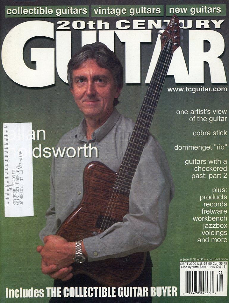 20th Century Guitar - September 2000 (Magazine Back Issue)