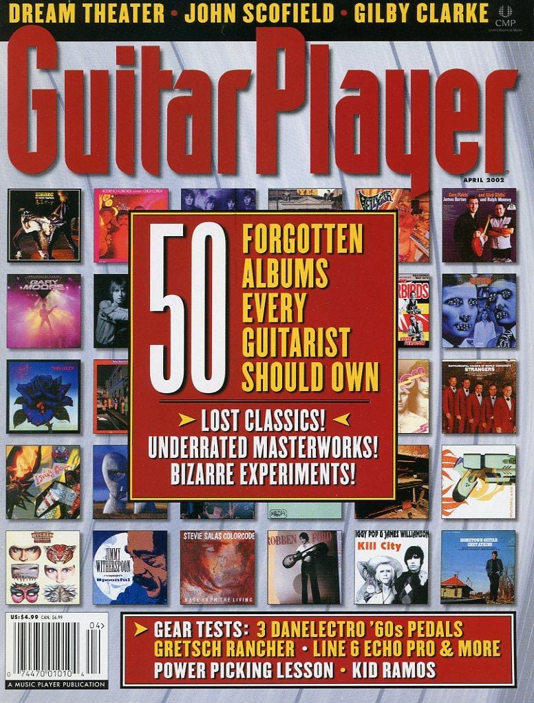 Guitar Player Magazine Back Issue - April 2002