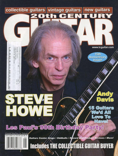 20th Century Guitar - August 2005 (Magazine Back Issue)