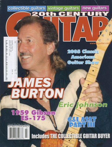 20th Century Guitar - July 2005 (Magazine Back Issue)
