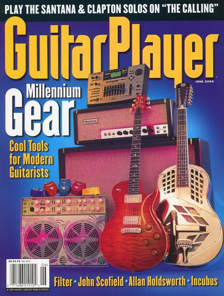 Guitar Player Magazine Back Issue - June 2000