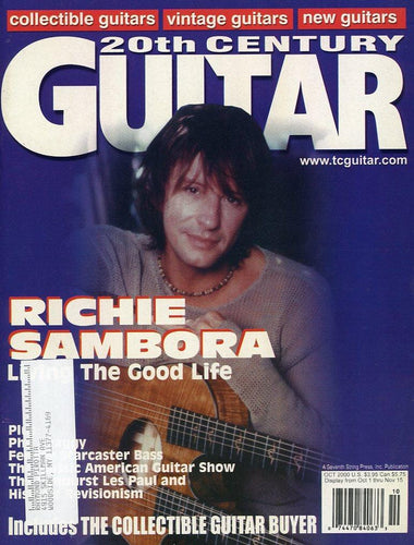20th Century Guitar - October 2000 (Magazine Back Issue)