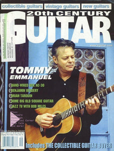 20th Century Guitar - September 2002 (Magazine Back Issue)