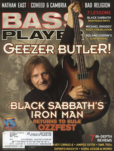Bass Player Magazine Back Issue - July 2004