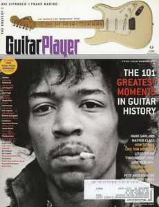 Guitar Player Magazine Back Issue - April 2005