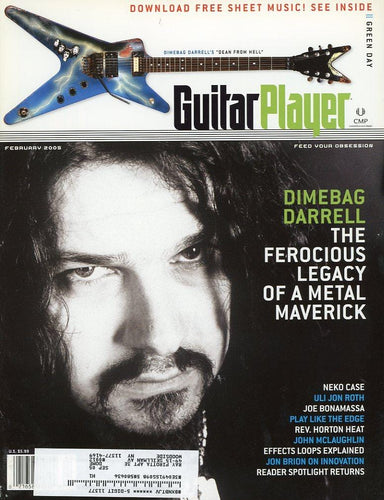 Guitar Player Magazine Back Issue - February 2005