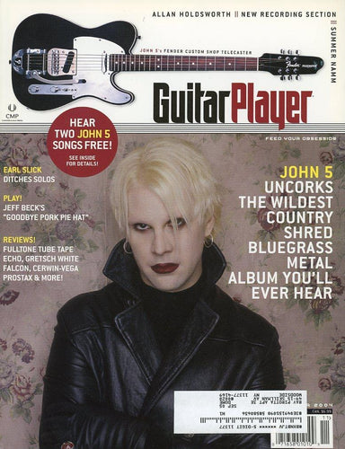 Guitar Player Magazine Back Issue - November 2004