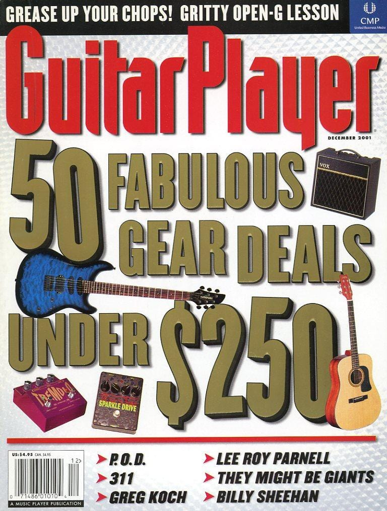 Guitar Player Magazine Back Issue - December 2001