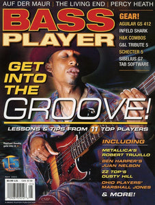 Bass Player Magazine Back Issue - May 2004
