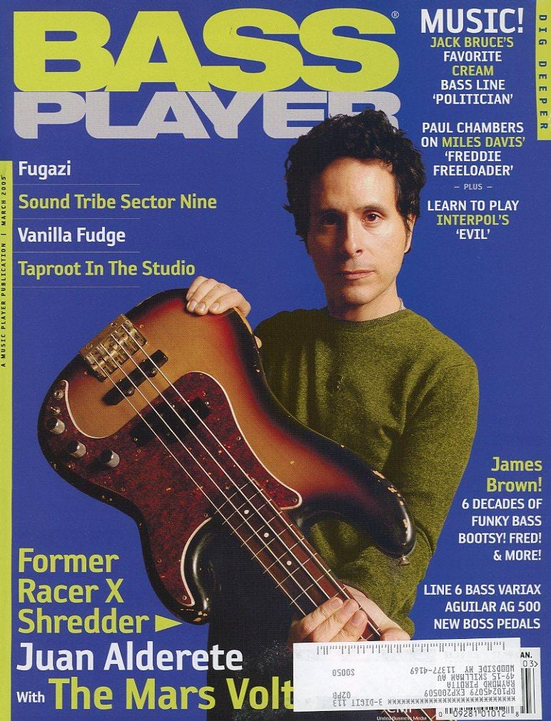 Bass Player Magazine Back Issue - March 2005