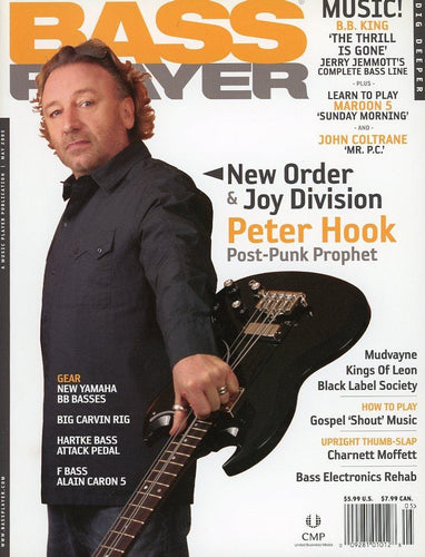 Bass Player Magazine Back Issue - May 2005