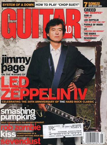 Guitar World - January 2002 (Magazine Back Issue)