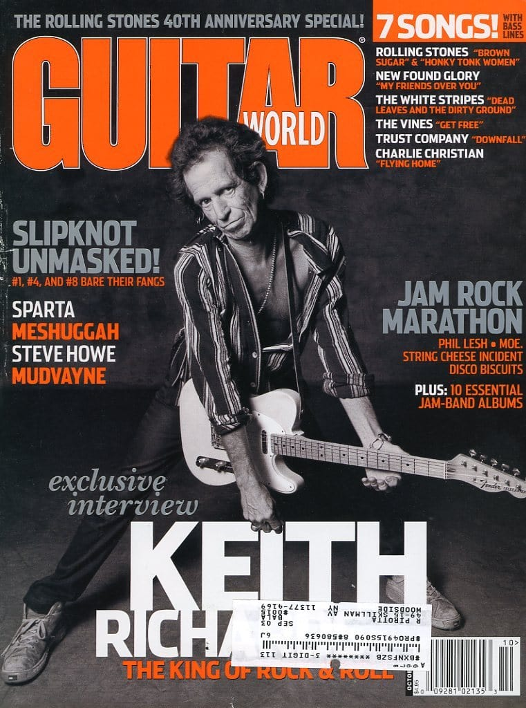 Guitar World - October 2002 (Magazine Back Issue)