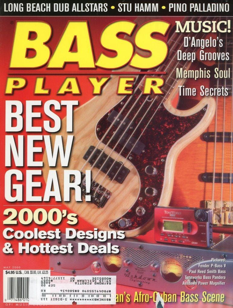 Bass Player Magazine Back Issue - May 2000