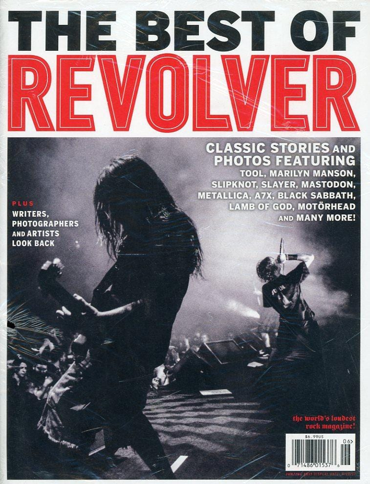 Revolver Magazine BRAND NEW Back Issue - June/July 2017