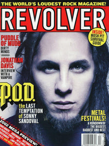 Revolver Magazine Back Issue - March/April 2002