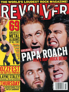 Revolver Magazine Back Issue - September/October 2002