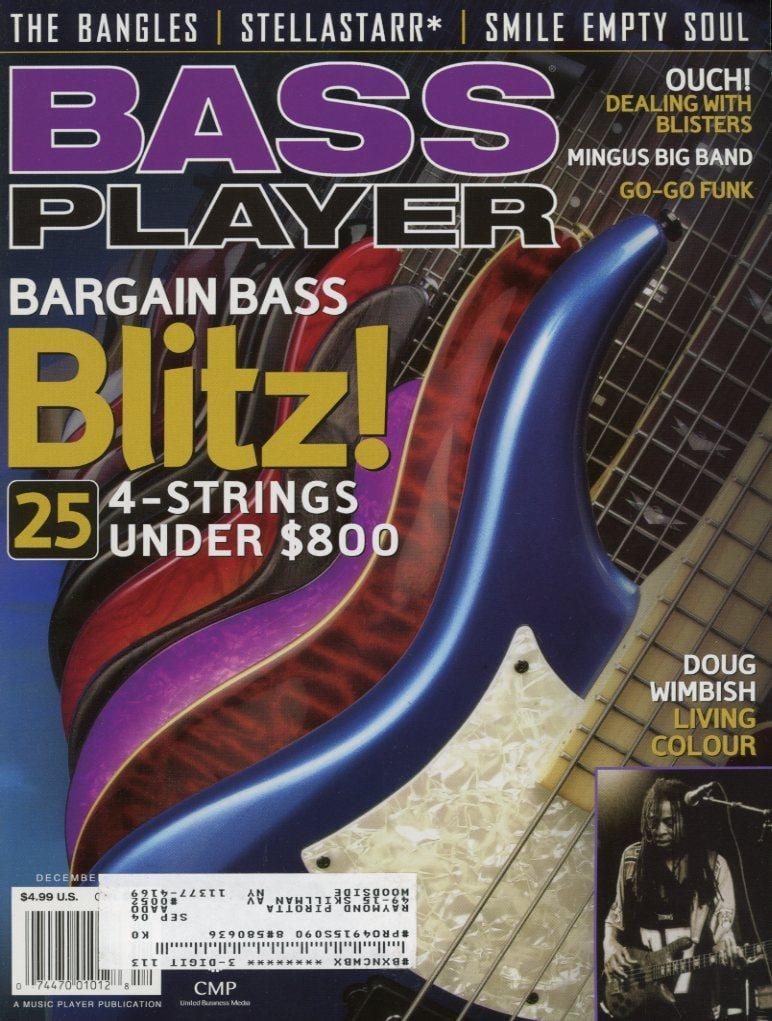 Bass Player Magazine Back Issue - December 2003