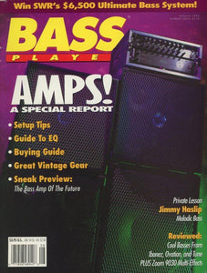 Bass Player Magazine Back Issue - August 1992