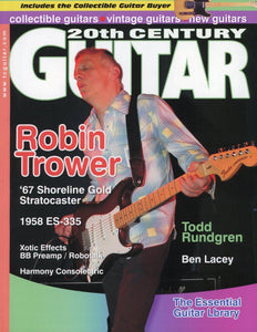 20th Century Guitar - August 2006 (Magazine Back Issue)