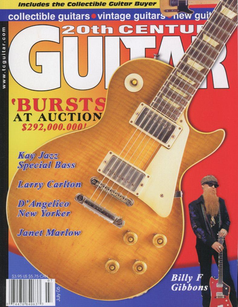 20th Century Guitar - July 2006 (Magazine Back Issue)