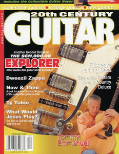 20th Century Guitar - December 2006 (Magazine Back Issue)
