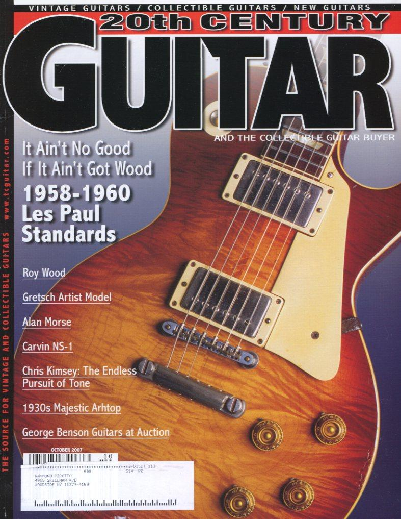 20th Century Guitar - October 2007 (Magazine Back Issue)