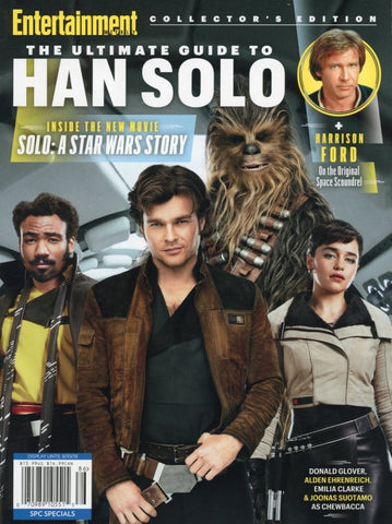 The Ultimate Guide To Han Solo Magazine Back Issue - Star Wars Memorabilia - Star Wars Fan Gift