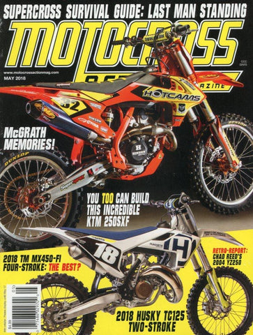 Motocross Action May 2018 Magazine Back Issue - Motocross Memorabilia - Motocross Gift Idea