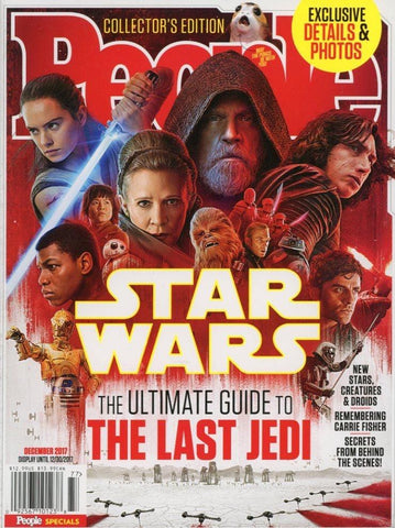 The Ultimate Guide To The Last Jedi Magazine Back Issue - Star Wars Memorabilia - Star Wars Fan Gift