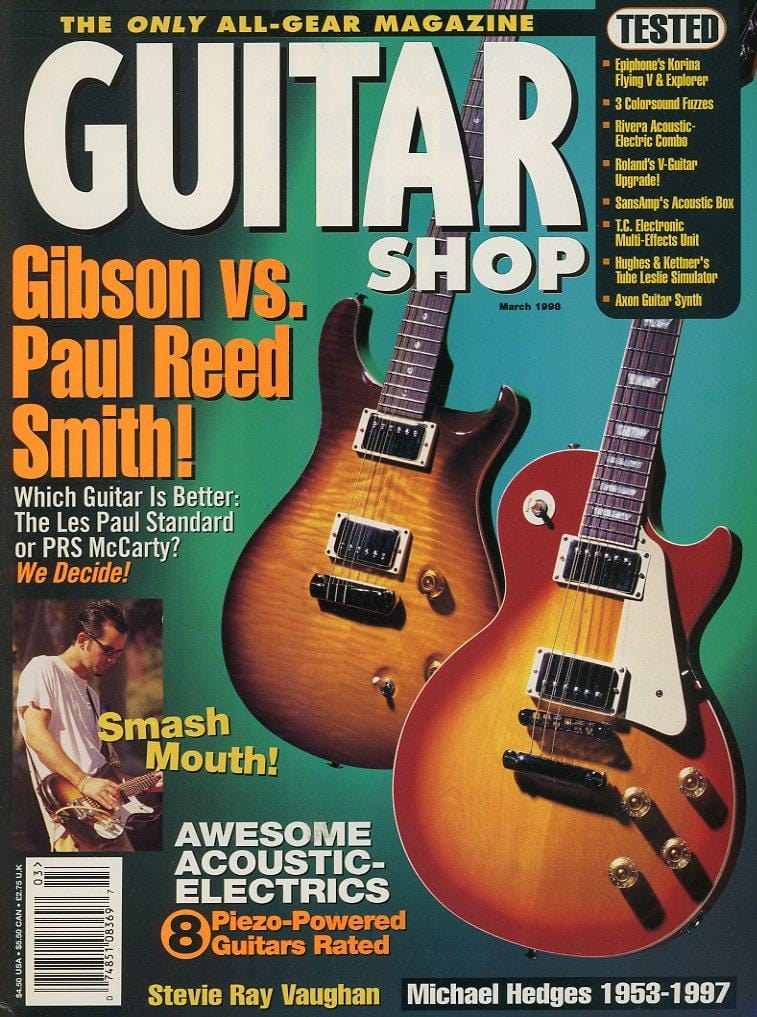 Guitar Shop Magazine Back Issue - March 1998