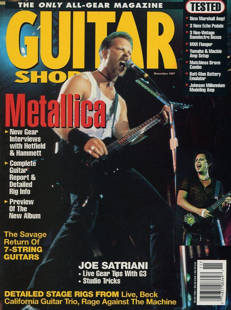 Guitar Shop Magazine Back Issue - November 1997