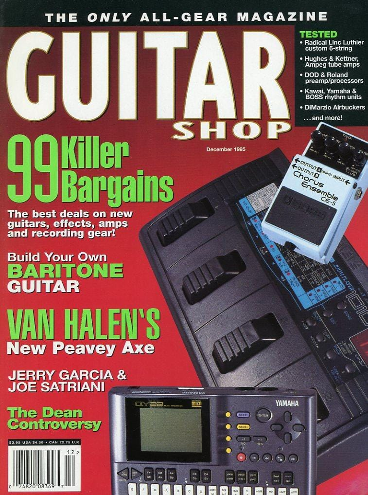 Guitar Shop Magazine Back Issue - December 1995