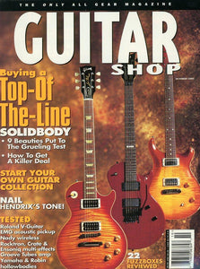 Guitar Shop Magazine Back Issue - October 1995