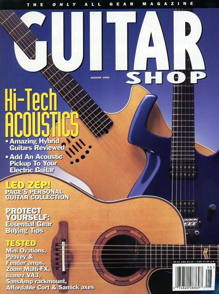 Guitar Shop Magazine Back Issue - August 1995
