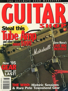 Guitar Shop Magazine Back Issue - June 1995
