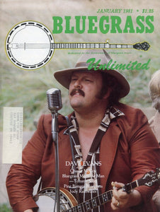 Bluegrass Unlimited Magazine Back Issue - January 1981