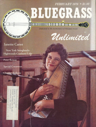 Bluegrass Unlimited Magazine Back Issue - February 1979